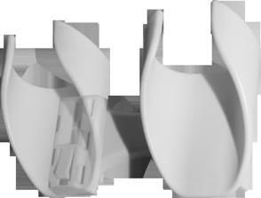 Technisches Bild des Krückenhalters